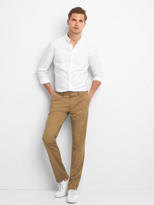 Lightweight slim fit streç pantolon