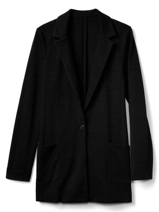 Çift örgülü blazer ceket