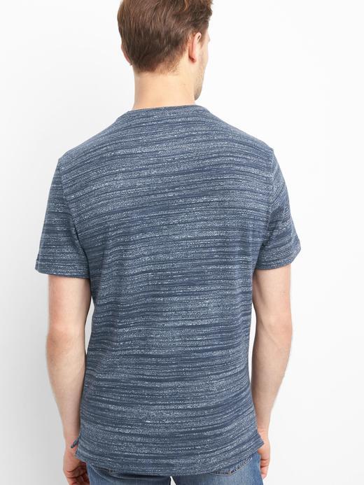 Softspun bisiklet yakalı t-shirt