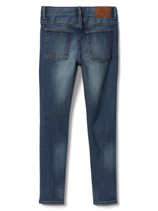 Streçli skinny jean pantolon