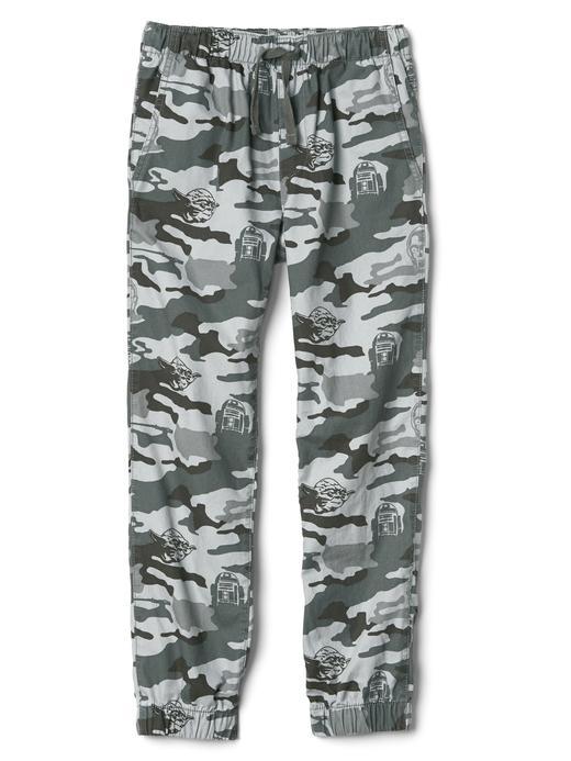 Gap | Star Wars™ kamuflaj desenli jogger pantolon