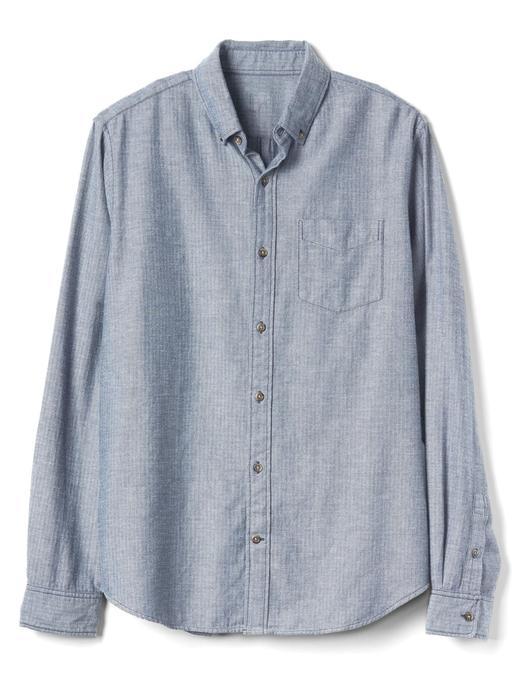 Standard fit balıksırtı gömlek