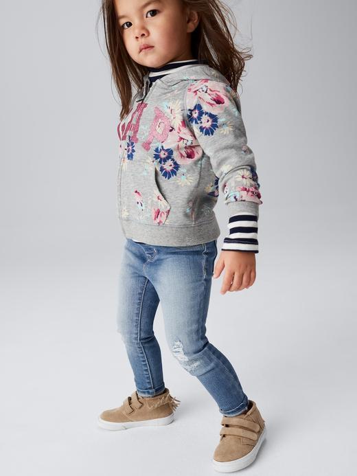 Logolu fermuarlı raglan sweatshirt