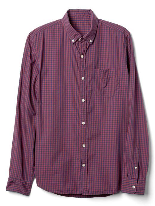 Kareli slim fit gömlek