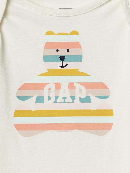 Ayıcık Desenli Gap Logo Body
