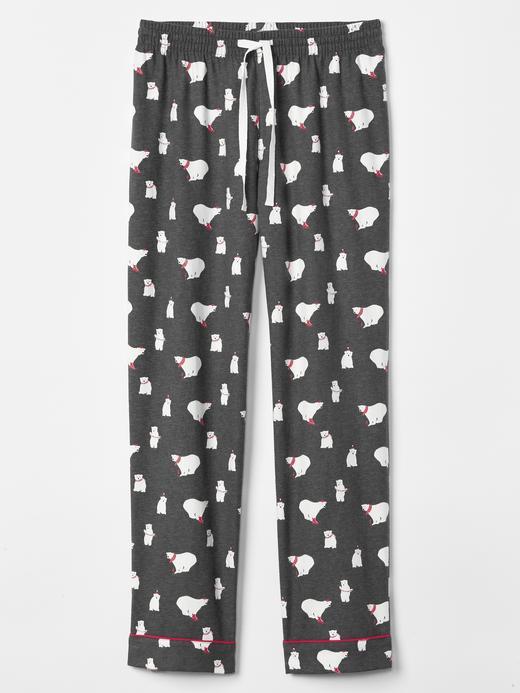 Kadın ayıcık desenli Desenli pijama altı