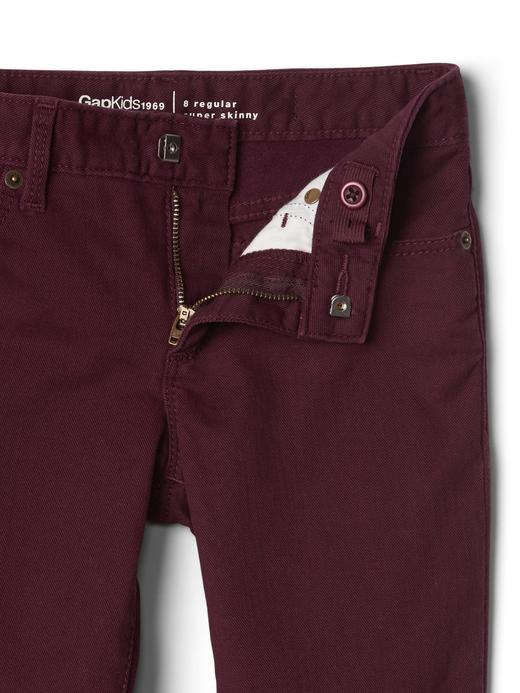 Super skinny streçli jean pantolon