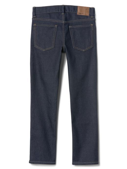 Erkek Çocuk koyu yıkama Streçli THERMOLITE® slim jean pantolon