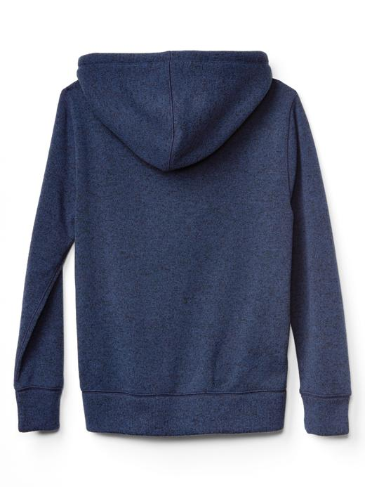 Polarlı kapüşonlu sweatshirt