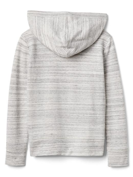 gri Logolu fermuarlı sweatshirt