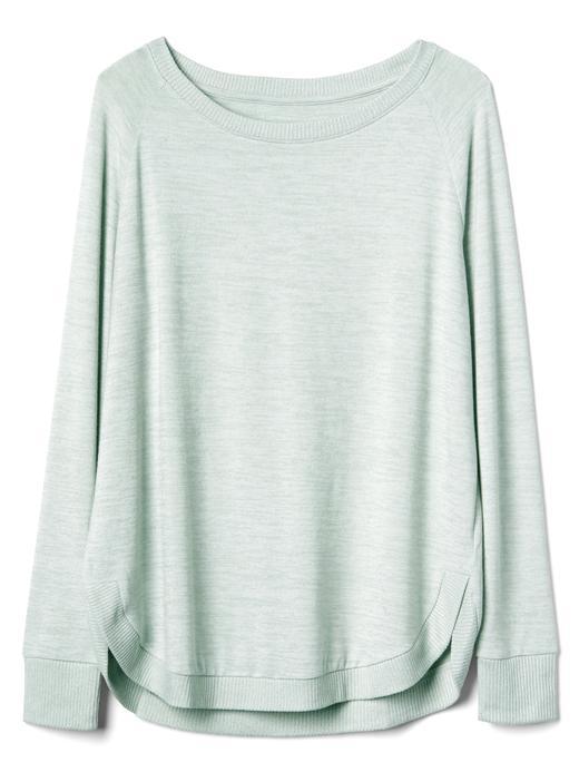 Softspun raglan tunik t-shirt