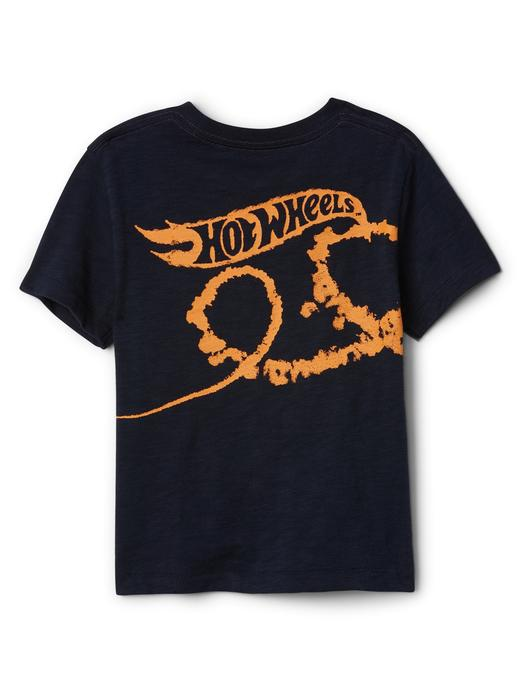 babyGap | Hot Wheels© grafik desenli t-shirt