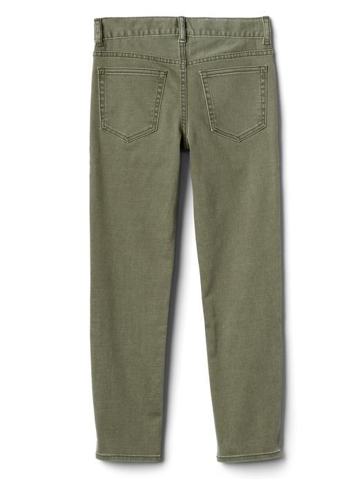 Erkek Çocuk gri kamuflaj Superdenim Fantastiflex slim jean pantolon