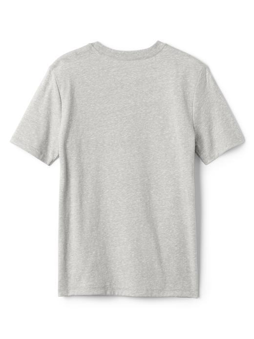 parlak mavi GapKids | DC™ grafik desenli t-shirt