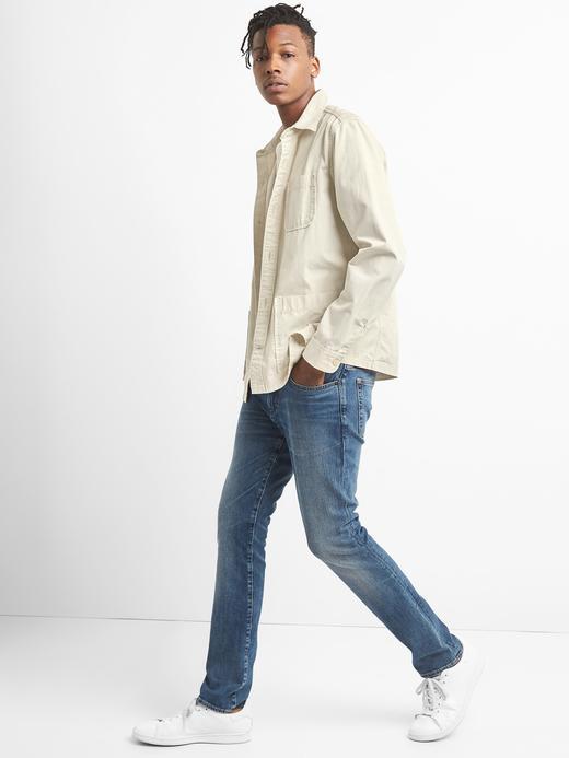 Pamuklu gömlek ceket