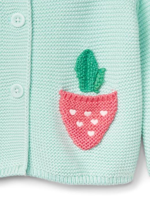 yeşil Ayıcık kapüşonlu hırka