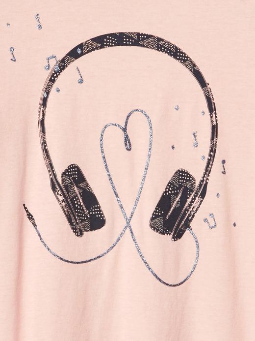 Grafik desenli t-shirt