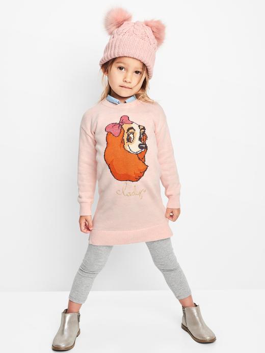 pembe babyGap | Disney Baby Lady kazak elbise