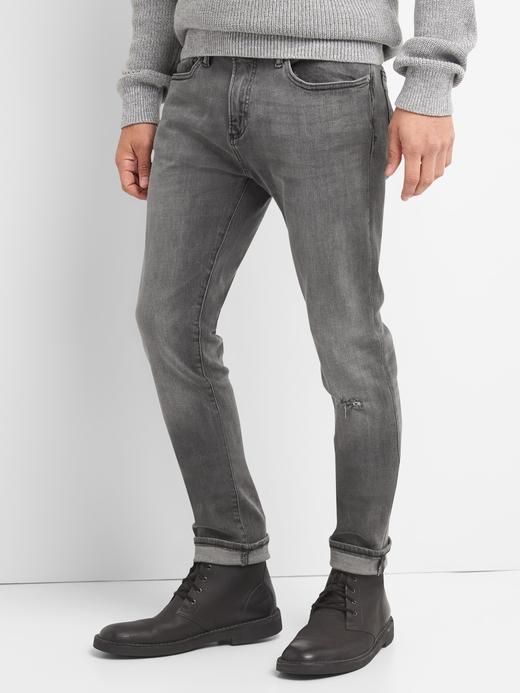 Skinny fit streçli jean pantolon