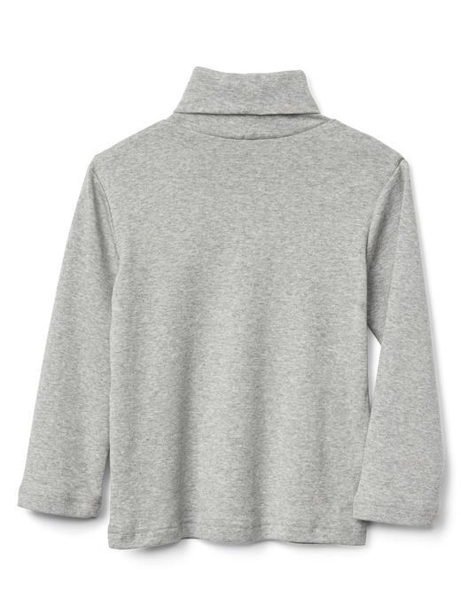 Boğazlı uzun kollu t-shirt