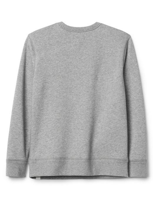 kırçıllı gri Gap | Star Wars™ sıfır yaka sweatshirt