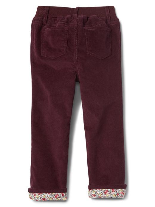 Poplin astarlı straight jean pantolon