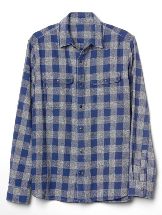 Kareli standart fit gömlek