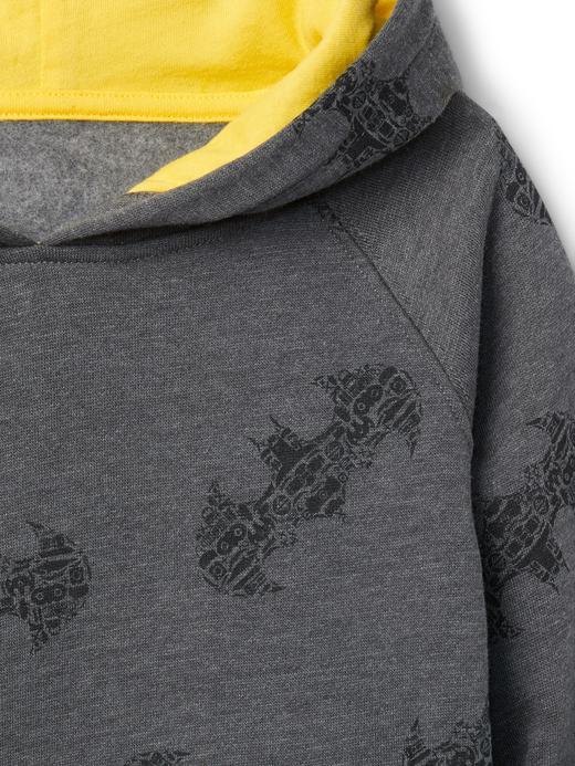 kırçıllı gri GapKids | DC™ kapüşonlu sweatshirt