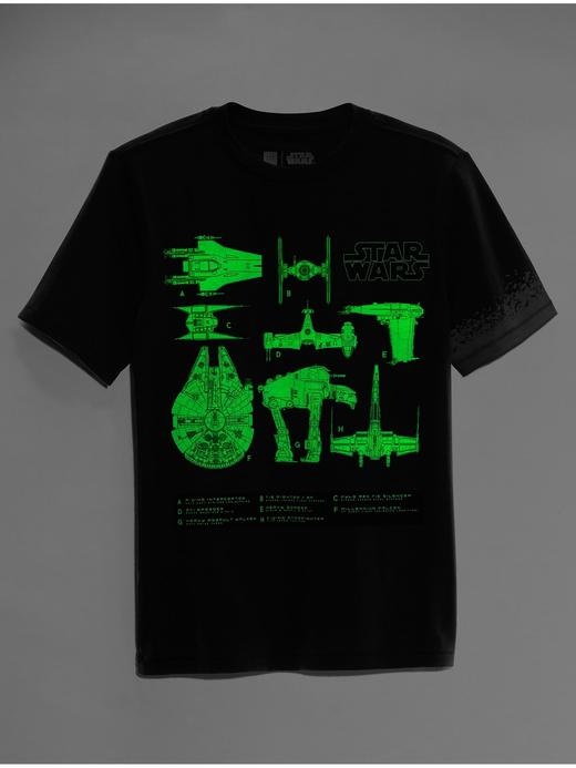 GapKids | Star Wars™ grafik desenli t-shirt