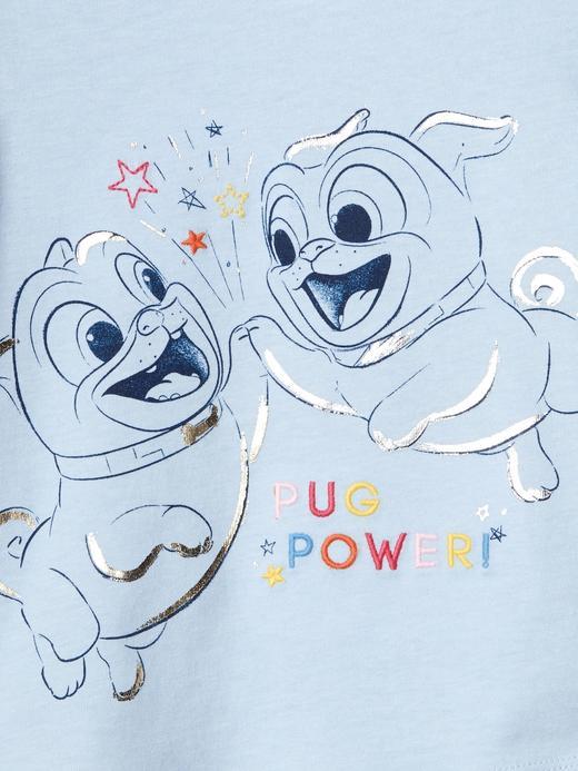 GapKids | Disney Pugs grafik desenli t-shirt
