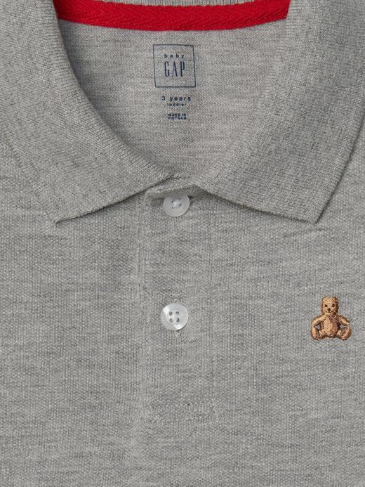 canlı kırmızı Brannan Bear polo t-shirt