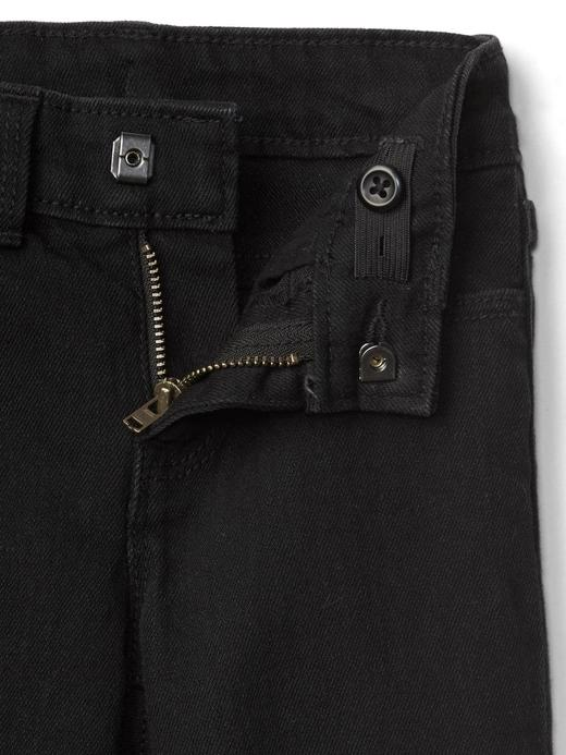 Bebek Siyah Streç straight jean pantolon