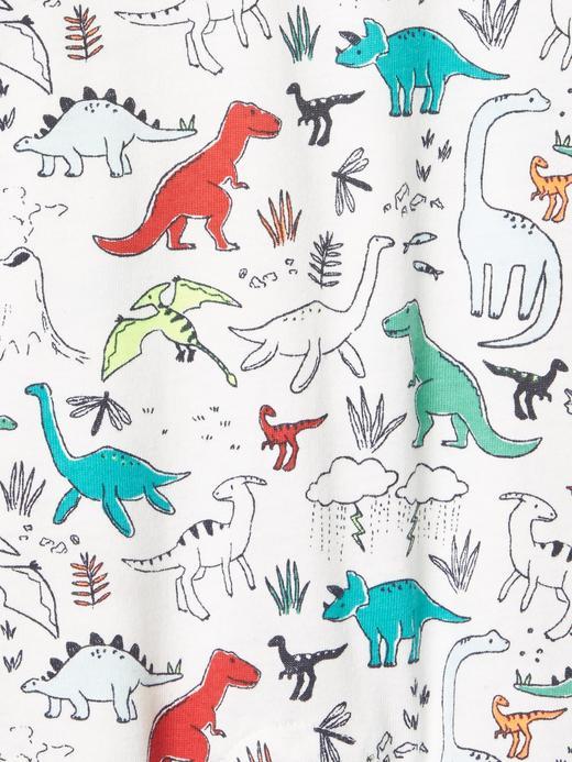 Dinozor desenli tulum