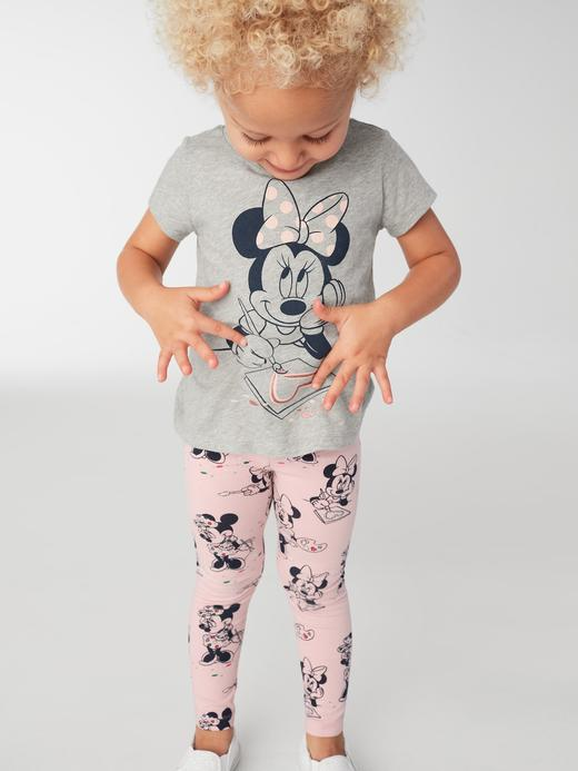 Bebek minnie mouse desenli. GapKids | Disney Minnie Mouse kısa kollu t-shirt