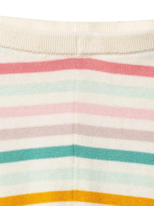 Bebek çok renkli çizgili Çizgili tayt