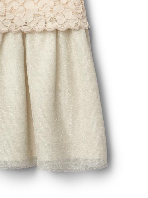 Bebek inci Tüllü elbise