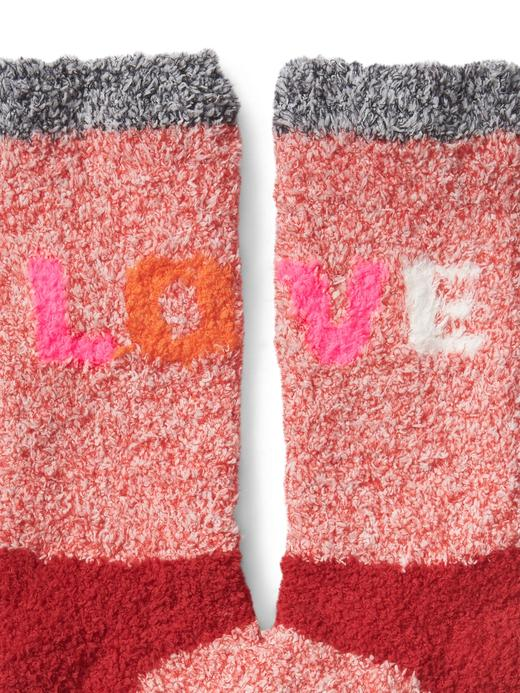 Kadın puantiyeli Desenli yumuşak ev çorabı