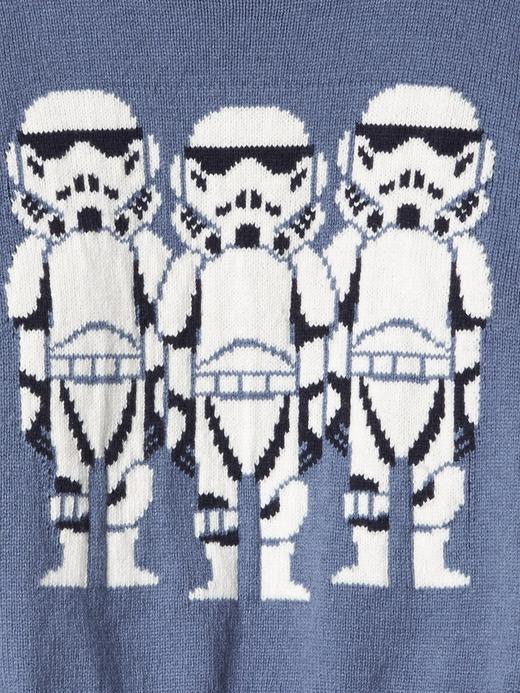 Bebek gri Gap | Star Wars™ intarsia sıfır yaka kazak