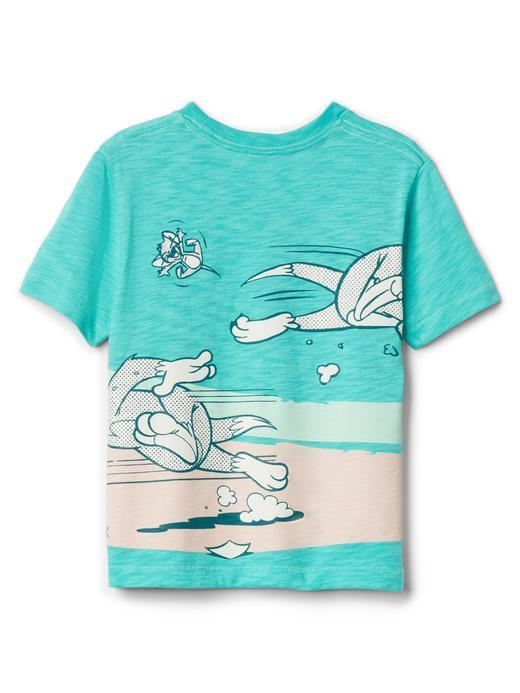 Bebek kırık beyaz GapKids | Looney Tunes desenli t-shirt
