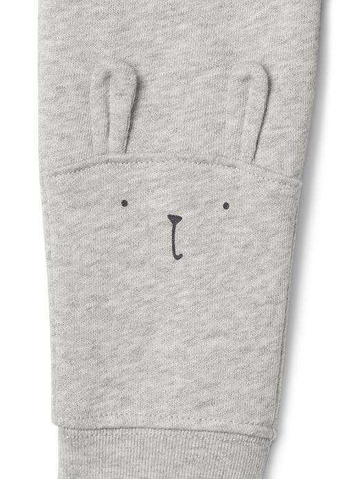Tavşan desenli eşofman altı