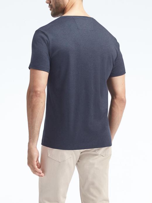 Parlak Lux Kumaş  Pamuklu T-shirt