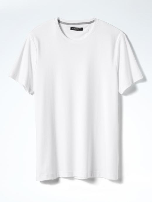 Erkek lacivert Parlak Lux Kumaş  Pamuklu T-shirt