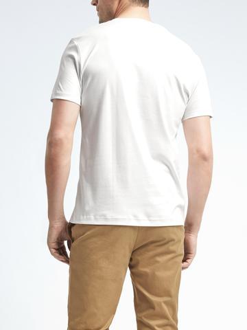 Erkek lacivert Luxury Touch T-Shirt