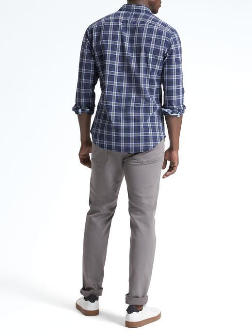 Grant Slim-Fit Ekose Gömlek