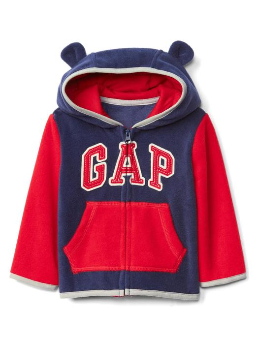 Bebek mavi Pro Fleece Gap Logo ayıcık sweatshirt