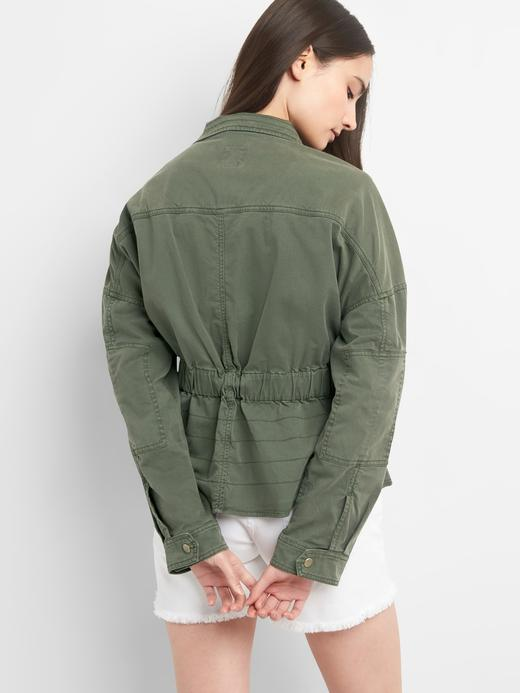 Kemerli cepli ceket