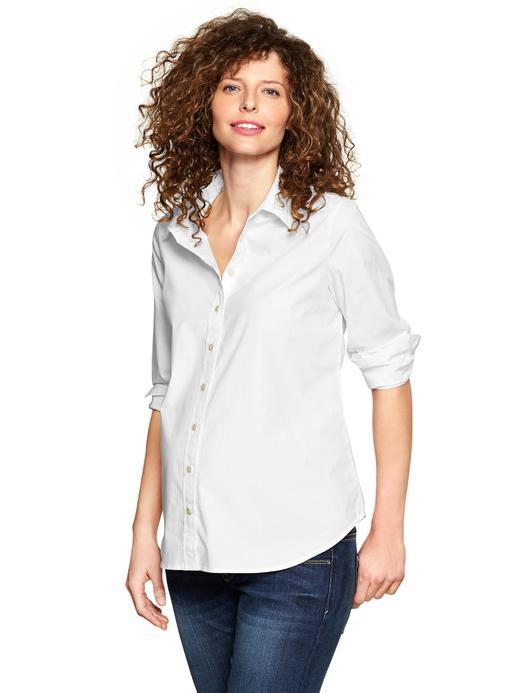 Kadın Beyaz Maternity Tailored Fit Gömlek