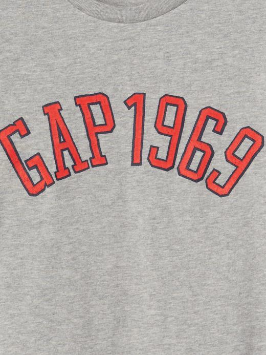 Logolu grafik desenli t-shirt