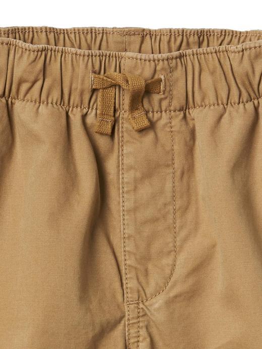 Kanvas jogger pantolon