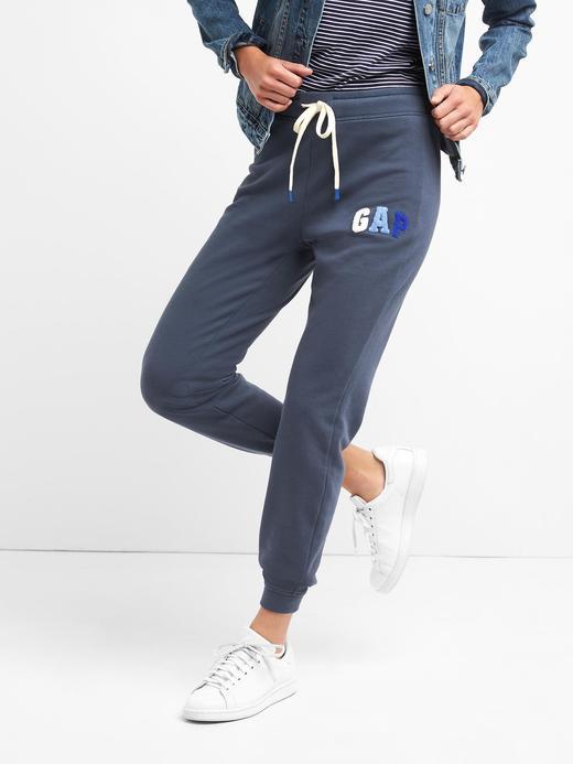 lacivert Gap Logolu jogger eşofman altı